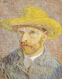 Vincent van Gogh writes on fear